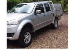 GREATWALL 2012 4x4 Dual Cab, 4 cylinder petrol, 5 speed manual, six months rego, 63,000kms, tool...