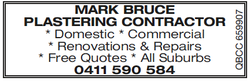 Mark Bruce Plastering