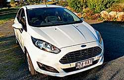 2014 Ford Fiesta h/back, 5sp man, Reg 09/18, 31,100ks, immac, electric/tint windows, cruise, b/to...