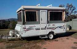 JAYCO PENGUIN POPTOP 2001, VGC, dbl bed, sleeps 3, oven, 3-way fridge, A/C, rego 10/18, roll-out...