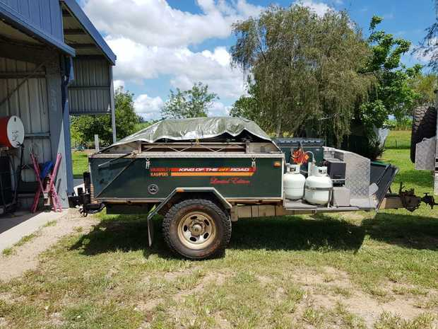 KIMBERLEY KAMPER     2003  Ltd Edition,  off road,  fully equipped with boa...