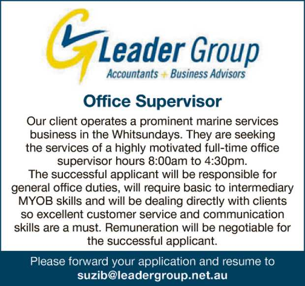Office Supervisor