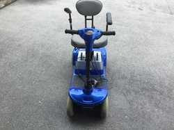 Mobility scooter, good condition , 2 new battery's  Can fold down to fit in boot of car