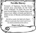 Neville Davey