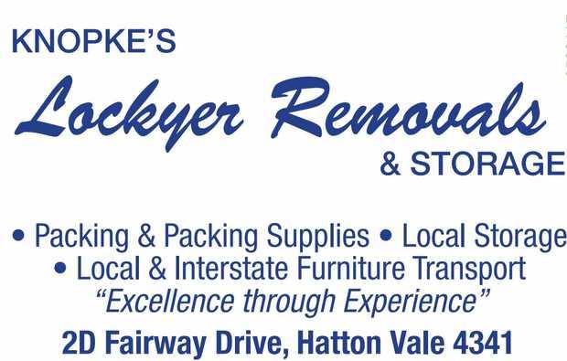 KNOPKE'S Lockyer Removals & STORAGE   • Packing & Packing Supplies    ...