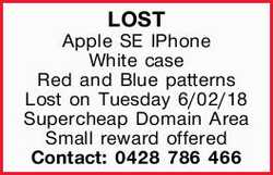 LOST Apple SE IPhone