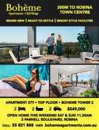 Boheme Apartments x 2