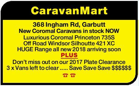 368 Ingham Rd, Garbutt   New Coromal Caravans in stock NOW   Luxurious Coromal Princeton...
