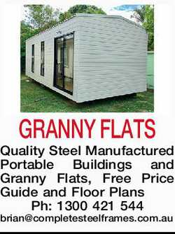 GRANNY FLATS   Quality Steel Manufactured Portable Buildings and Granny Flats,   Free Pri...
