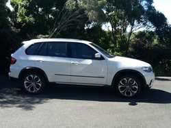 BMW X5 Diesel 2013, white/black int, 80K klm, heads up sat nav, rear cam, reg 06/18, BMW serv, ga...