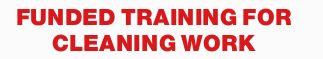 CPP20611 Certificate II in Cleaning Operations includes First Aid  VENUE: INALA & GOODN...