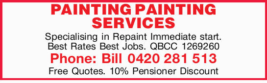 Specialising in Repaint    Immediate start!   Best Rates!  Best Jobs!    QBC...