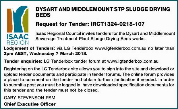 DYSART AND MIDDLEMOUNT STP SLUDGE DRYING BEDS