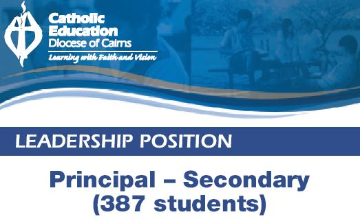 Principal - Secondary (387 students)    Good Counsel College, Innisfail, FNQ  Catho...