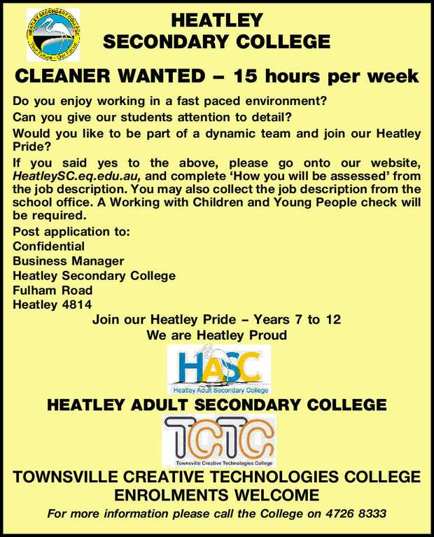 HEATLEY SECONDARY COLLEGE