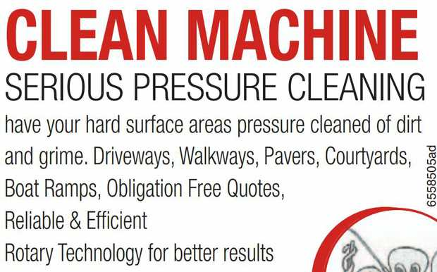 Have Your Hard Surface Areas Pressure Cleaned Of Dirt & Grime