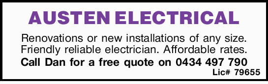 AUSTEN ELECTRICAL