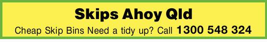 Skips Ahoy Qld   Cheap Skip Bins   Need a tidy up?
