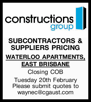 SUBCONTRACTORS & SUPPLIERS PRICING