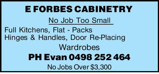 No Job Too Small Full Kitchens,   Flat - Packs Hinges & Handles,   Door Re-Placing Wa...