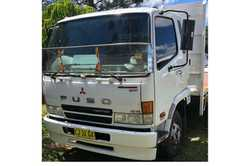 2005 FUSO 6 TONNE 2.6m tray, air con, 240 HP, 6 speed, rego until Sept,'VGC. $24,000 ono PH...