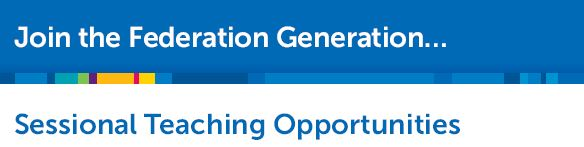 Sessional Teaching Opportunities
