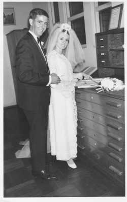 Mike & Helen Blewitt Married at St. Joan of Arc Haberfield on 7th March 1968 & still going strong.