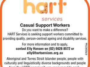 Casual Support Workers