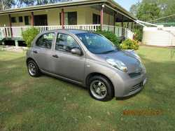 2009 Nissan Micra sedan, 4cyl, auto, lady owner since new, low klms, excellent small car, RWC, re...