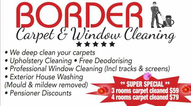 BORDER CARPET AND WINDOW CLENAING