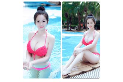 Real 23yo  Tantalising Asian Temptress,  Busty  Slim Body  Delightful Exp...