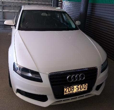 "Audi A4 2011 BA 8K    White  114,112ks.  New 17"" alloy 7 spoke rims and tyr..."