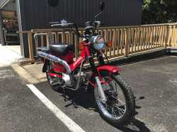 -Registered -30,000kms -2012 Model -Great condition -Serviced and maintained by postie bike expert m...