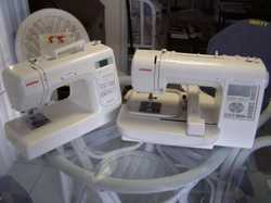 Janome Memoy Craft plus A DC2101 ,  On the net $993, These have been used about a dozen times, Two p...