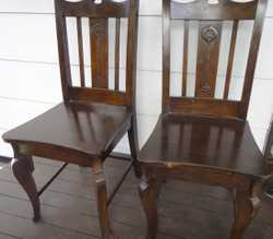 4 chairs - firm price