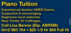6760353ab Piano Tuition Experienced teacher AMEB Exams. Supportive & encouraging. Beginners most...