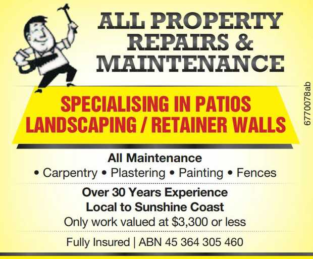 All property Repairs & Maintenance