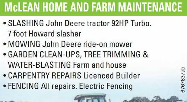 SLASHING John Deere tractor 92HP Turbo. 7 foot Howard slasher • MOWING John Deere ride-o...
