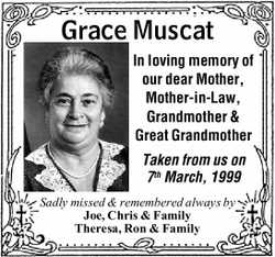 In loving memory of our dear Mother,