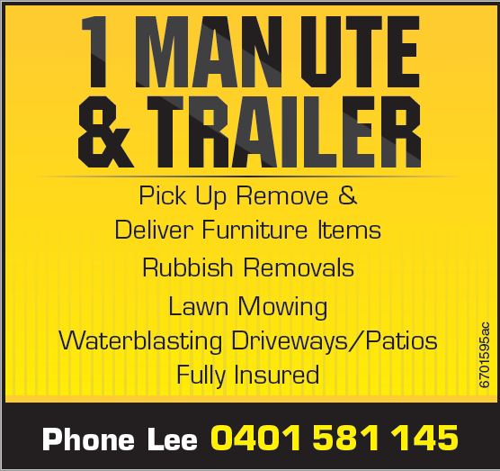 Pick Up Remove & Deliver Furniture Items