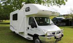 RV Iveco Esperance 2012 diesel, only 79775km six berth, leather As New condition $36,200 Phone 07...