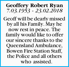 Geoffrey, Robert Ryan
