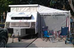 2000 Jayco Westport poptop 16.5, Queen island bed,front kitchen, r/out awn & full annex, frid...