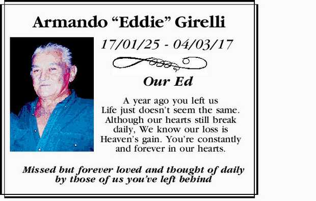 Armando Eddie Girelli