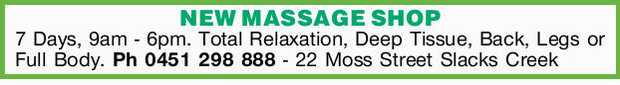 NEW MASSAGE SHOP