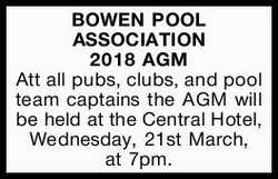 BOWEN POOL ASSOCIATION