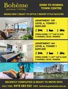 Boheme Apartments x2