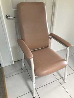 Orthopaedic chair, adjustable height, never used and in perfect condition. Ideal for anyone with dif...
