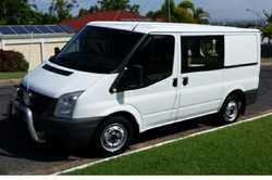 FORD Transit Van 2008 SWB, manual, 131000klm, diesel, cargo barrier, A/C, UHF radio, RWC, G.C. $1...