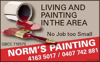 Living and Painting in the area